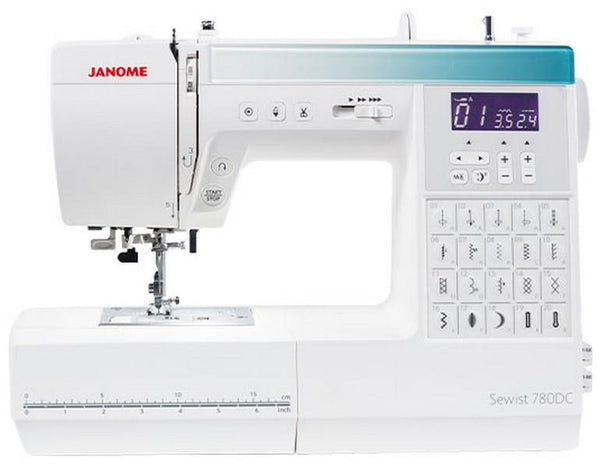 Janome Sewist 780DC available in Canada at The Quilt Store