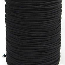 4mm Elastic Cord for Masks Black available in Canada at The Quilt Store