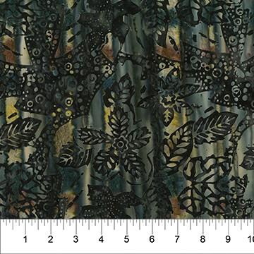 Painted Leaves by Banyan Batiks for Northcott available in Canada at The Quilt Store