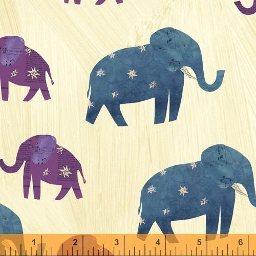 Wish Elephants by Carrie Bloomston available in Canada at The Quilt Store