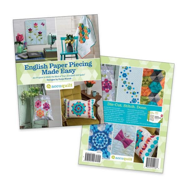 English Paper Piecing Made Easy Pattern Book by Katja Marek available in Canada at The Quilt Store