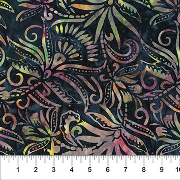 Coloring Book Banyan Batik available in Canada at The Quilt Store