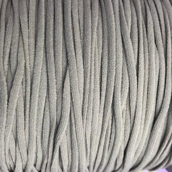 3mm Elastic Cord for Masks in Grey available in Canada at The Quilt Store