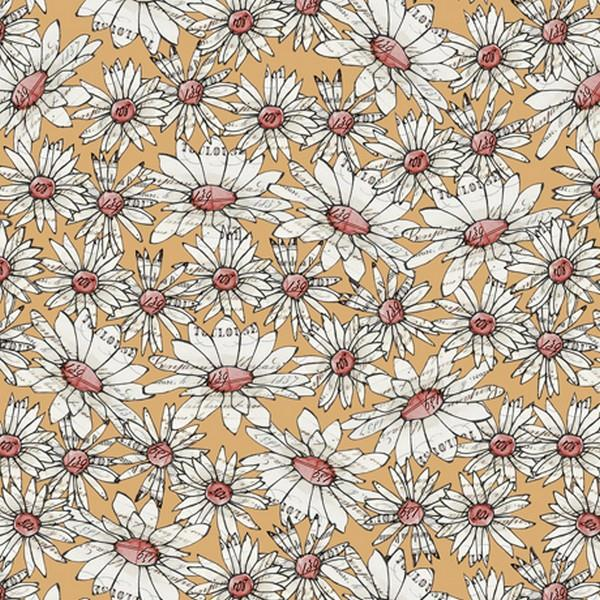Farm Life Yellow Daisies by QT Fabrics available in Canada at The Quilt Store