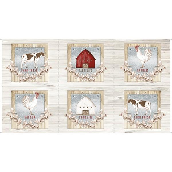 Farm Life Panel by QT Fabrics available in Canada at The Quilt Store