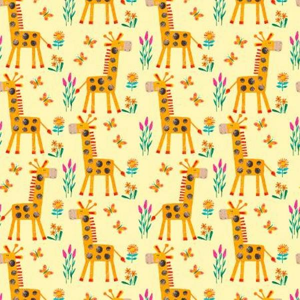 Numbers in the Jungle Giraffe by Henry Glass & Co. available in Canada at The Quilt Store