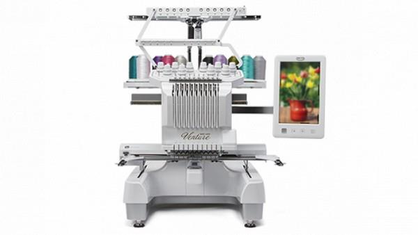 Baby Lock Venture 10 Needle Embroidery Machine available in Canada at The Quilt Store