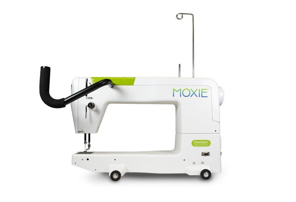 "Handi Quilter Moxie 15"" Longarm Quilting machine available in Canada at The Quilt Store"