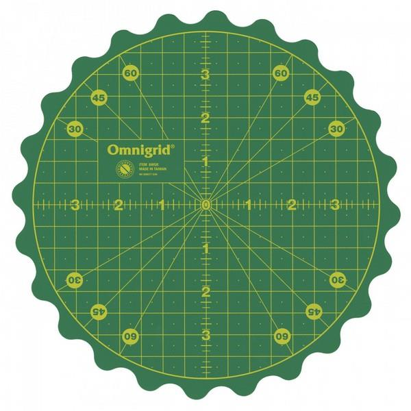 "Omnigrid 360 8"" Rotating Cutting Mat available in Canada at The Quilt Store"