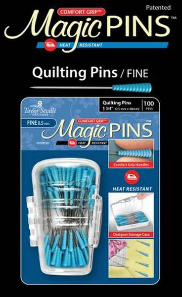 Magic Quilting Pins by Taylor Seville available in Canada at The Quilt Store