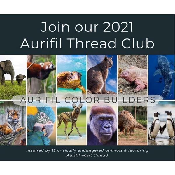 Register for the 2021 Aurifil Color Builders Club at The Quilt Store in Canada