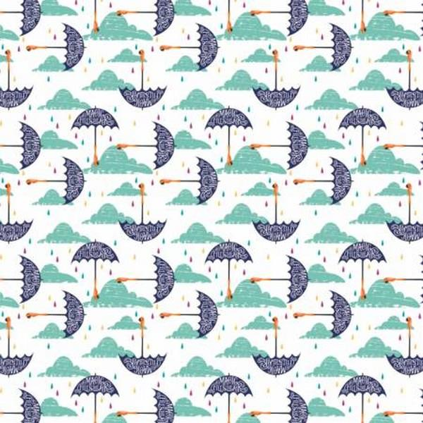 Mary Poppins Umbrellas by Camelot Fabrics available in Canada at The Quilt Store