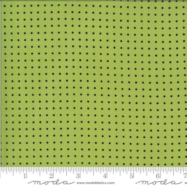 Quotation Pistachio Dots by Zen Chic for Moda available in Canada at The Quilt Store
