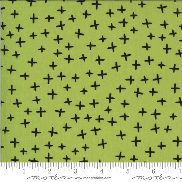 Quotation Pistachio X's by Zen Chic for Moda available in Canada at The Quilt Store