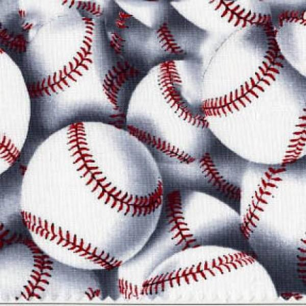 Grand Slam Baseballs by Timeless Treasures available in Canada at The Quilt Store