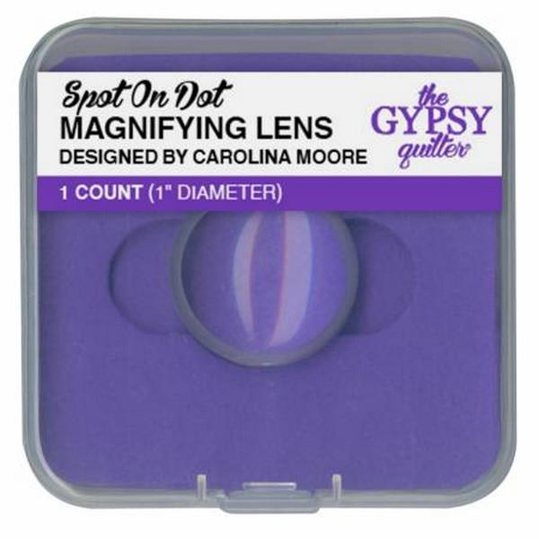 The Gypsy Guilter Spot on Dot Magnifying Lens available in Canada at The Quilt Store