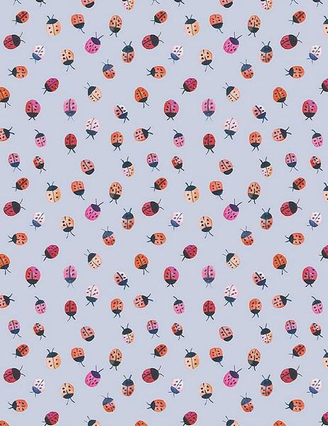 Here Comes The Sun Ladybugs by Dear Stella available in Canada at The Quilt Store