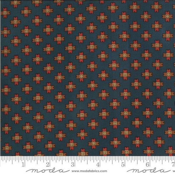 Yesterday Medium Blue by Jo Morton for Moda available in Canada at The Quilt Store