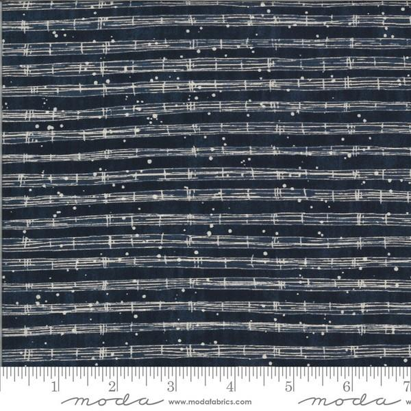 The Blues Stave Duke by Janet Clare for Moda available in Canada at The Quilt Store