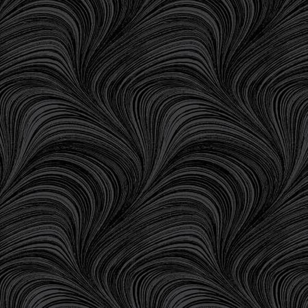 Charcoal Wave Texture Pearlescent by Kanvas Studios at The Quilt Store in Canada