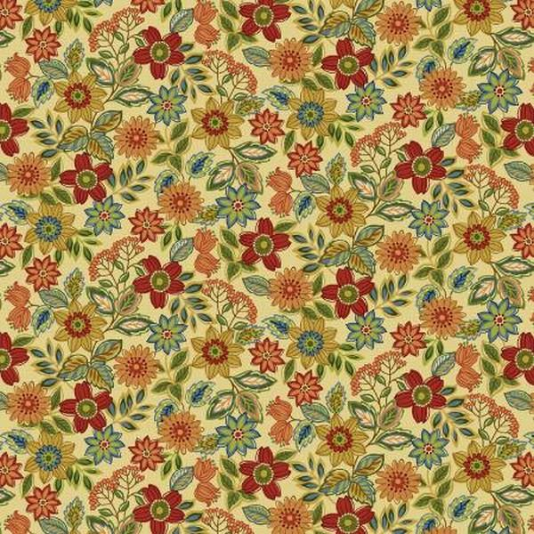 Farm to Table Floral by Jan Mott for Henry Glass & Co. available in Canada at The Quilt Store