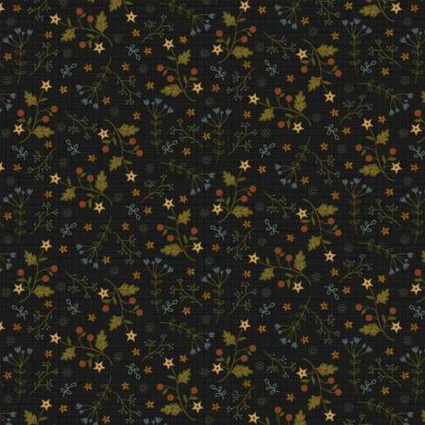 Farm to Table Black Floral by Jan Mott for Henry Glass & Co. available in Canada at The Quilt Store