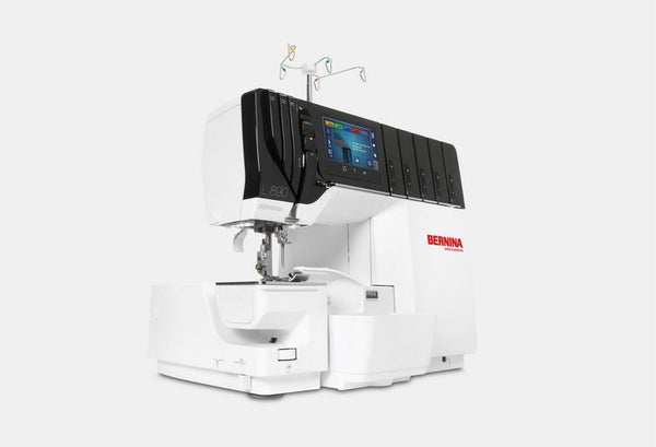 Bernina L 890 Overlock/Coverstitch available in Canada at The Quilt Store
