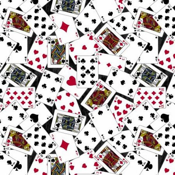 Man Cave Playing Cards by Windham Fabrics available in Canada at The Quilt Store