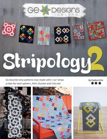 Book Stripology2 available in Canada at The Quilt Store
