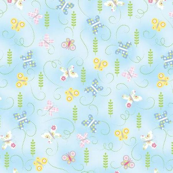Hippity Hoppity Butterflies by Kanvas Studios available in Canada at The Quilt Store