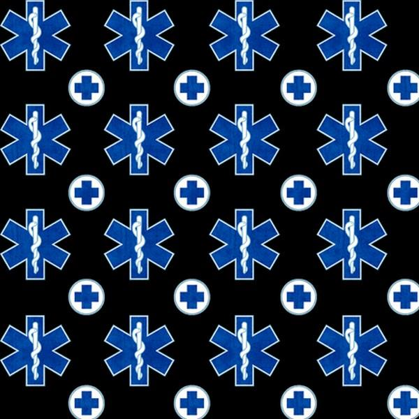 Just What the Doctor Ordered Black EMS Symbol available in Canada at The Quilt Store