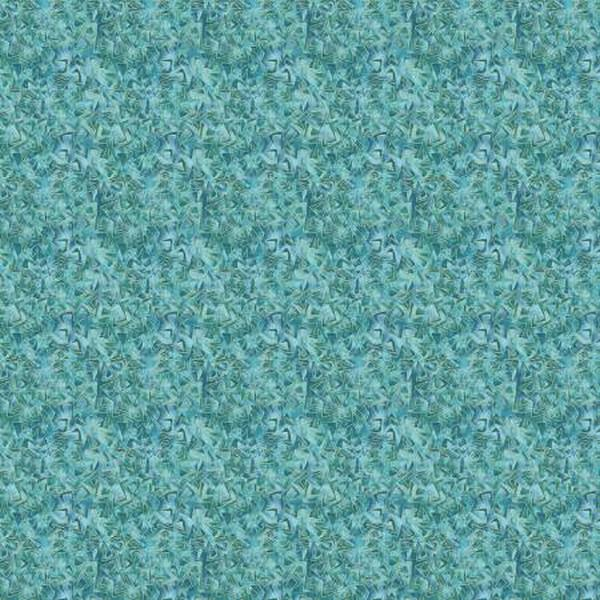 Cat-i-tude Triangular Motion Teal available in Canada at The Quilt Store