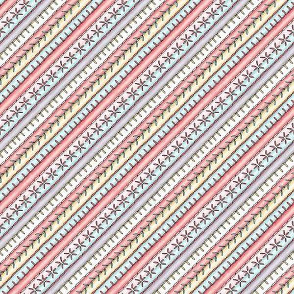 Measure Twice Bias Stripe by Maywood Studios available in Canada at The Quilt Store