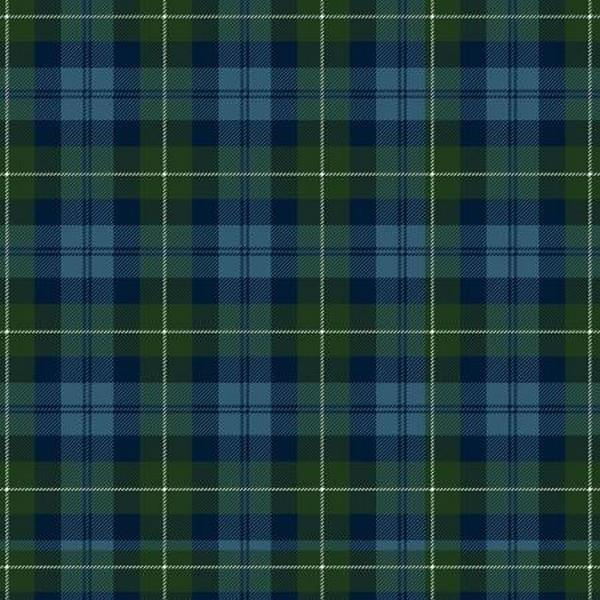 Plaid Basics Blue Tartan by Riley Blake available in Canada at The Quilt Store
