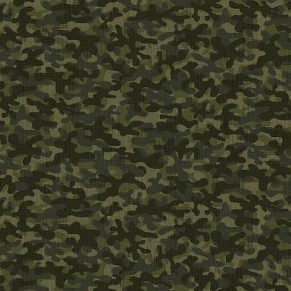 Camo Blender Green by Riley Blake Design available in Canada at The Quilt Store