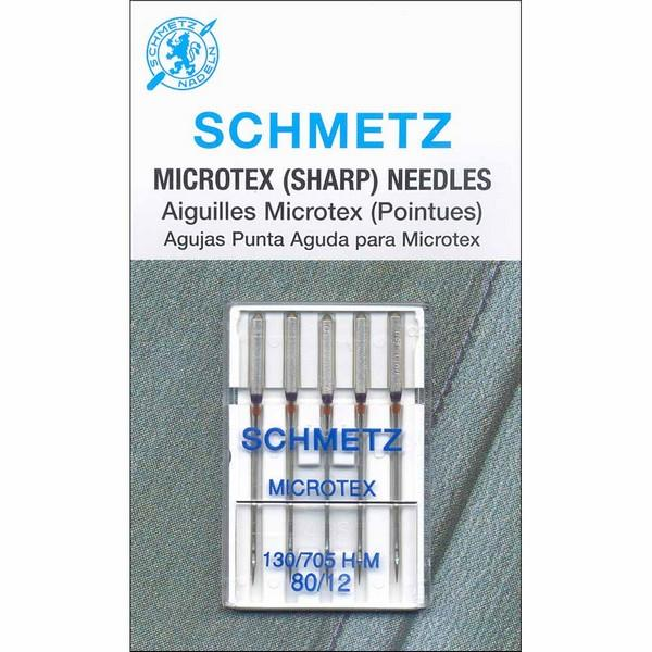 Schmetz Microtex (Sharp) Needles available in Canada at The Quilt Store