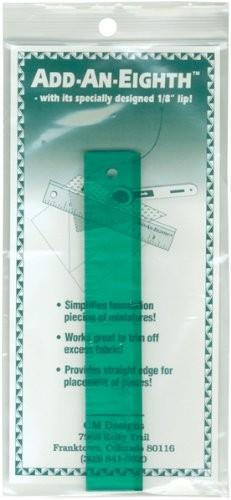 "add-an-eight Ruler - 6"" green available in Canada at The Quilt Store"