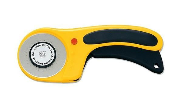 OLFA ERGONOMIC ROTARY CUTTER - 60mm
