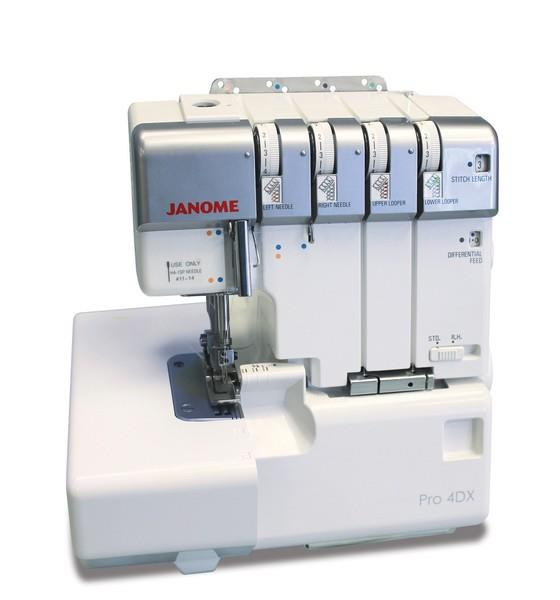 Janome PRO4DX Available in Canada at The Quilt Store