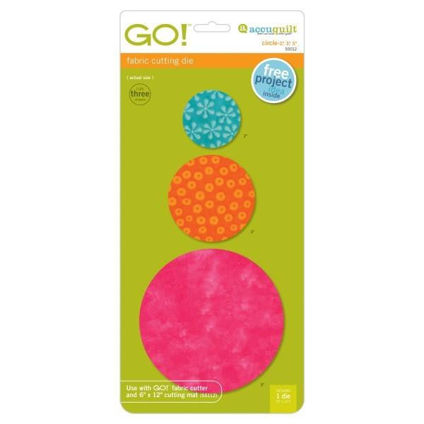 AccuQuilt Go! Fabric Cutting Die Circle