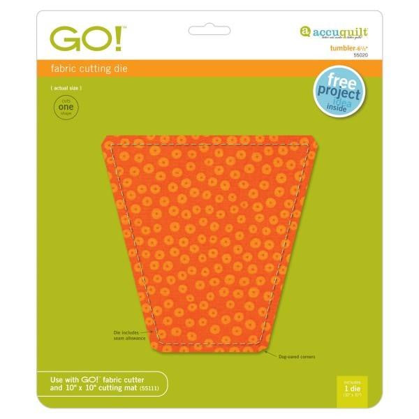 AccuQuilt Go! Fabric Cutting Die Tumbler - 6 1/2""