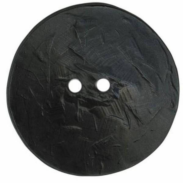 Dill Polyamide Black Button available at The Quilt Store