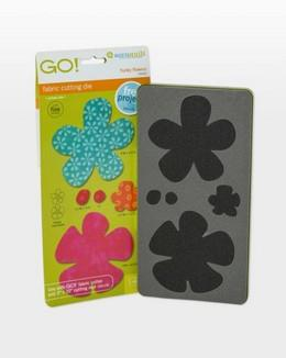 GO! Funky Flowers available in Canada at The Quilt Store