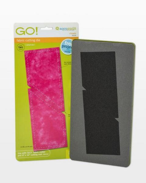 Accuquilt GO! Chisel Die available in Canada at The Quilt Store
