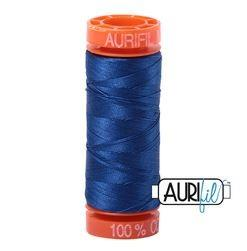 Aurifil 2740  Dark Cobalt 50 wt 200m available in Canada at The Quilt Store