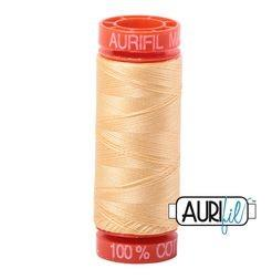Aurifil 2130 - Medium Butter 50 wt 200m