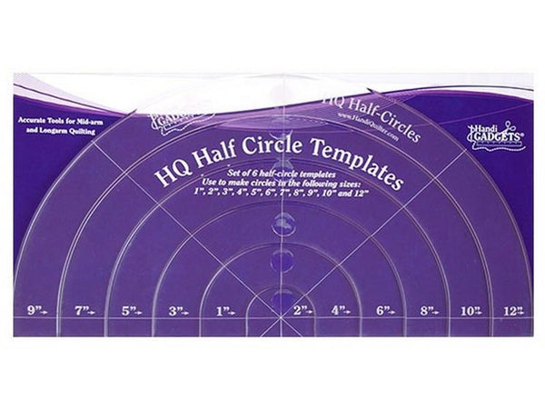 HQ Half-Circle Templates at The Quilt Store