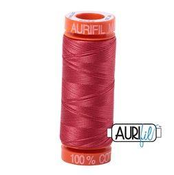 Aurifil 2230 Red Peony 50 wt 200m available in Canada at The Quilt Store