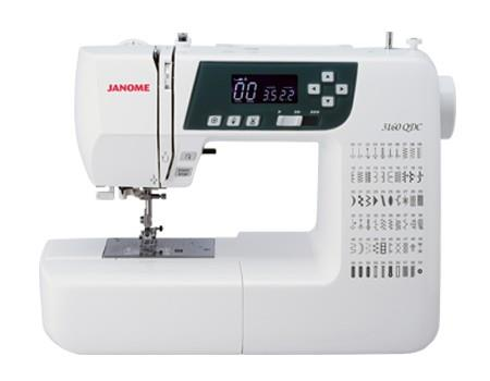 Janome 3160QDC available in Canada at The Quilt Store