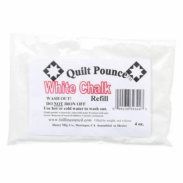 Pounce White Chalk Refill